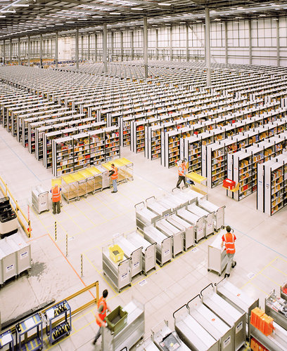 Amazon in Rugeley for the Financial Times Magazine