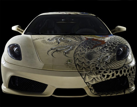 Tattooed-Ferrari-2