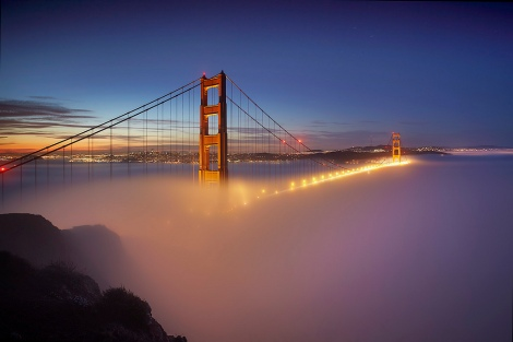 Fog at the Gate #1 - San Francisco