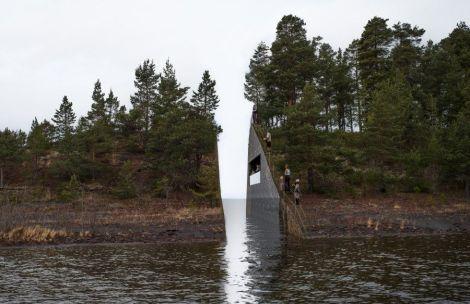 Norway-memorial-island
