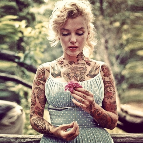 Old-and-comtemporary-Celebrities-covered-in-tatoos-2
