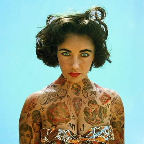 Old-and-comtemporary-Celebrities-covered-in-tatoos-7