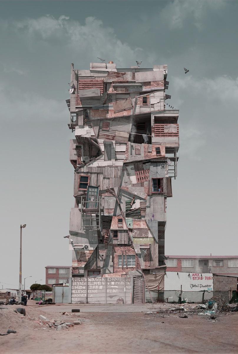 【建築デザイン】魅力的なセルフビルド!?どこか退廃的な空想建築群。 @onFilters