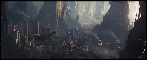 Scifi_city_speed_2_by_AndreeWallin