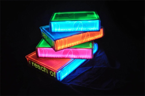 Luminous-Neon-Books-by-Airan-Kang-2