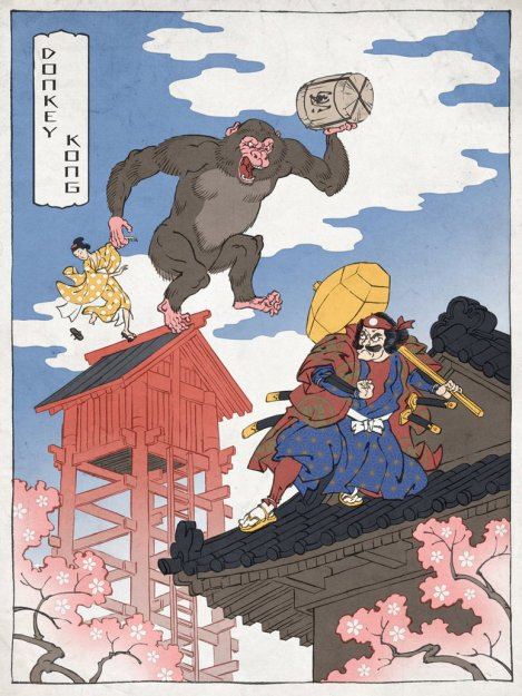 donkey_kong_as_a_japanese_ukiyo_e_by_thejedhenry-d52lnbs