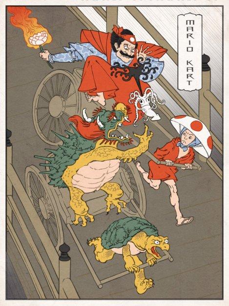 mario_kart_japanese_ukiyo_e_by_thejedhenry-d52lmrq