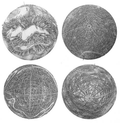 illustrations-of-detailed-cities-on-globes-8-900x923
